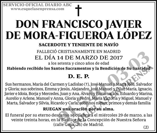 Francisco Javier de Mora-Figueroa López